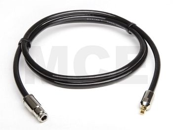 Ecoflex 10 Coaxial Cable assembled with N Female to SMA Male Clamp, Length 5m