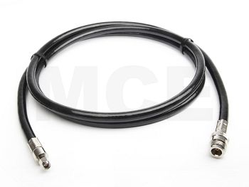 Ecoflex 10 Coaxial Cable assembled with N Female to SMA Male Crimp, Length 4m
