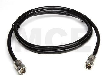Ecoflex 10 mit UHF Stecker auf UHF Stecker Clamp, Länge 25m