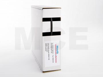 Schrumpfschlauch schwarz 1,2 / 0,6 mm, Box 12m DERAY-HB