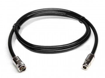 Ecoflex 10 Coaxial Cable assembled with N Male to N Female, Length 1m