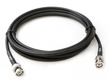 H 155 Coaxial Cable assembled with BNC Male to BNC Male, 4m
