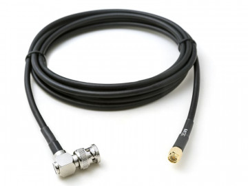 H 155 Coaxial Cable assembled with BNC Male R/A to SMA Male, 7m