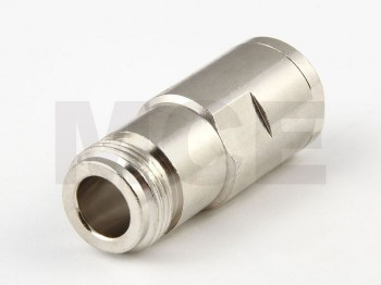 N Jack for RG 58, Aircell 5, clamp