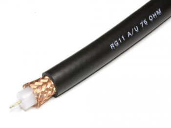 Coaxial Cable RG 11 A/U - 75 Ohm