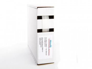 Schrumpfschlauch transparent 12,7 / 6,4 mm, Box 7,5m DERAY-H