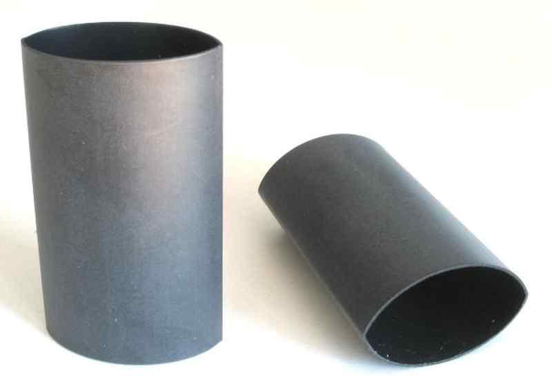 schrumpfschlauch schwarz mit kleber 24 0 6 0mm 60mm. Black Bedroom Furniture Sets. Home Design Ideas