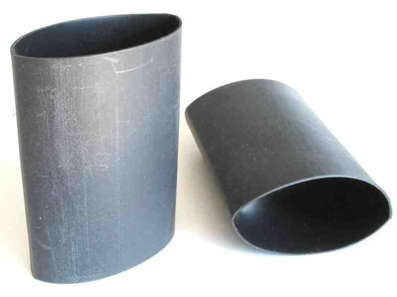 schrumpfschlauch schwarz mit kleber 32 0 8 0mm 65mm. Black Bedroom Furniture Sets. Home Design Ideas