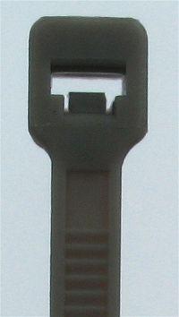 Kabelbinder Schwarz 2,5 x 122 mm, Beutel mit 100 Stück