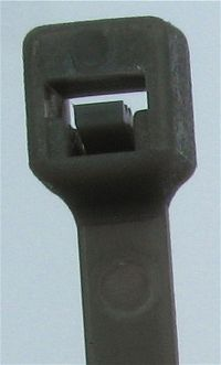 Kabelbinder Schwarz 2,5 x 165 mm, Beutel mit 100 Stück
