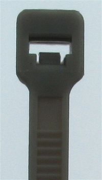 Cable Ties, Black, 4,8 x 121 mm
