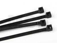 Cable Ties, Black, 4,8 x 280 mm