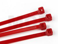 Cable Ties, Red, 4,8 x 300 mm