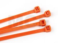Kabelbinder Orange 4,8 x 300 mm, Beutel mit 100 Stück