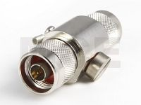 Lightning Protection Connector, N Male / N Male up to 6 GHz