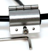 Grounding clamp for cable diameter of 10mm to 12mm