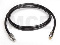 Ecoflex 10 mit BNC Stecker auf SMA Stecker Clamp, Länge 1m