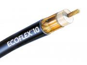 1m Ecoflex 10 Koaxialkabel 50 Ohm bis 6 GHz - Reststück