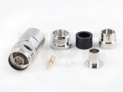N Stecker für Ecoflex 10, clamp, lötfrei