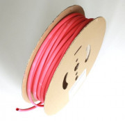 Shrink Tubing red 9,5 / 3,0 mm, 75m Reel DERAY-I 3000