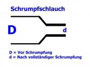 PTFE Schrumpfschlauch transparent 15,88 / 4,52 mm, Meterware